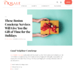 Exhale Lifestyle: These Boston Concierge Services Will Give You the Gift of Time for the Holidays
